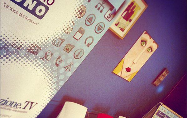 Radio Fermo Uno - Lo studio