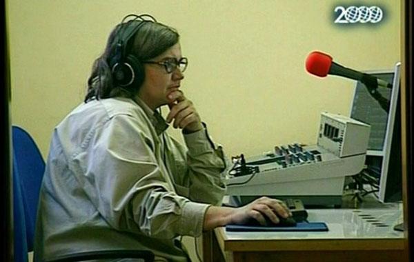 Dallo studio di Radio Laghi